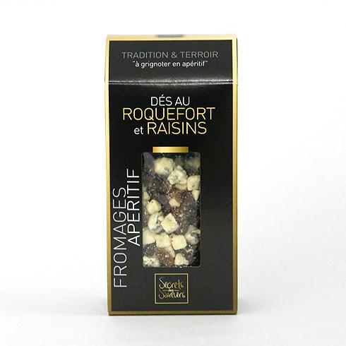 スクレ・デ・サヴール フリーズドライ ロックフォールチーズ&レーズン 70g